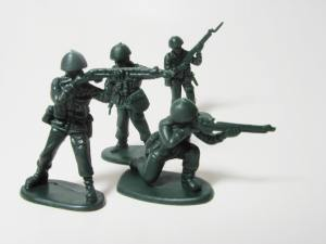 Toy soldiers: the reason we invented