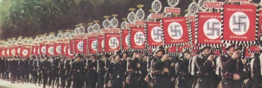 nazi march